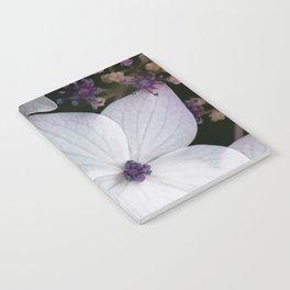 Purple and Blue Hydrangea Notebook