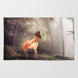 Horse warp out Rug
