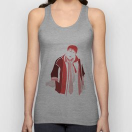 """Could I BE wearing any more clothes?"" Unisex Tank Top"