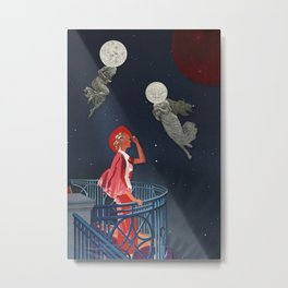 Balcony at the Celestial Gate Metal Print