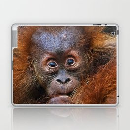 Extraordinary Animals - Orang Baby Laptop & iPad Skin