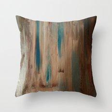 Blue Pearl Wheat Throw Pillow