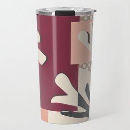 Finding Matisse pt.2 #society6 #abstract #art Travel Mug