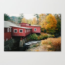 Vermont Sightings - 35mm Film Canvas Print