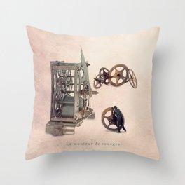 The clockworker Throw Pillow