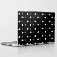 poop Laptop & iPad Skins featuring Ghost poop by Juli_Karu
