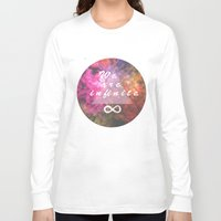 infinite Long Sleeve T-shirts featuring Infinite by MJ Mor