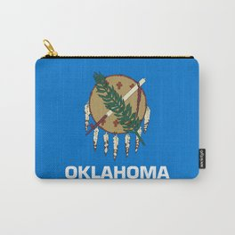 flag of oklahoma-Oklahoma,south,Oklahoman,Okie, usa,america,Tulsa,Norman,Broken Arrow Carry-All Pouch