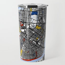 New orleans Mondrian Travel Mug