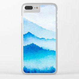 Winter scenery #17 Clear iPhone Case