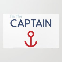 I'm The Captain Rug