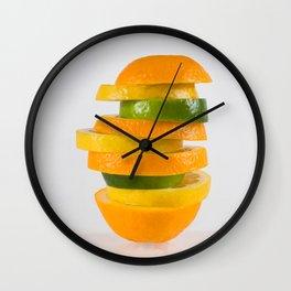 Orang-Lem-Lime Wall Clock