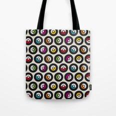 Dancing vinyls Tote Bag