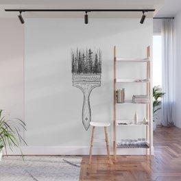Print XV / Paintbrush Wall Mural