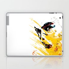 Street art yellow painting colors fashion Jacob's Paris Laptop & iPad Skin