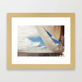 Out on the Chesapeake Framed Art Print