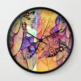 setback Wall Clock
