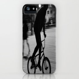 Ride the night iPhone Case