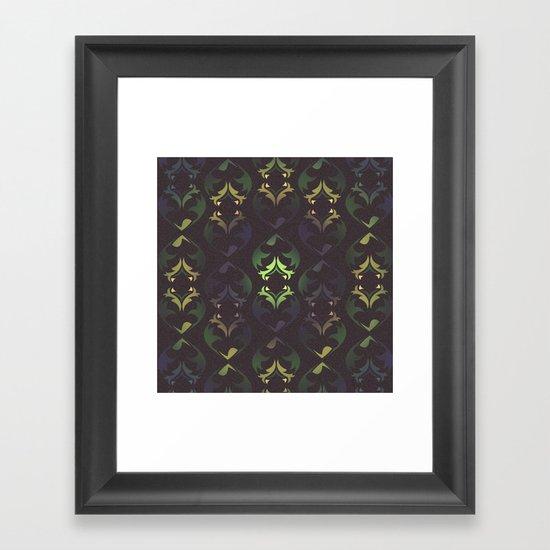 Heart Forest Framed Art Print
