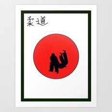 Art Of Judo Print Art Print
