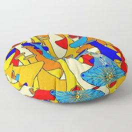 North African moroccan marrakesh hookah vases Floor Pillow