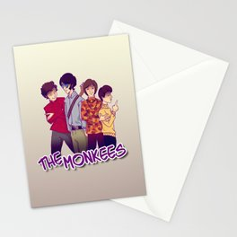 The Monkees Stationery Cards