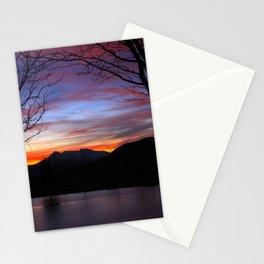 Sunrise on the Lake Stationery Cards