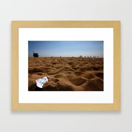 Valley Girl (Blue Movies) Framed Art Print