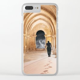 Destiny of the  man Clear iPhone Case