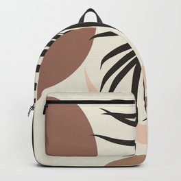 Minimal Tropical Abstract Finesse #1 #tropical #decor #art #society6 Backpack