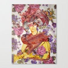 MADAME DEVAUCAY Canvas Print