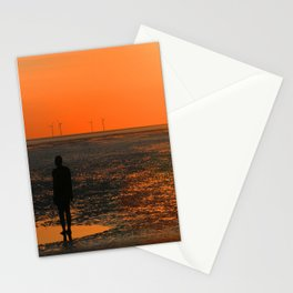Two Gormley Iron Men Stationery Cards