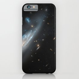 Hubble Space Telescope - A Discovery of Ghostly Arms iPhone Case