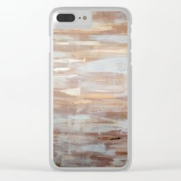 Rose Gold Clear iPhone Case