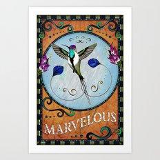 Marvelous Art Print