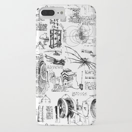 Da Vinci's Sketchbook iPhone Case