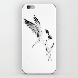 Time to Leave the Nest iPhone Skin