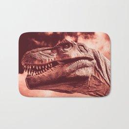 Dinosaur sephia Bath Mat