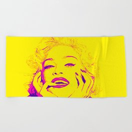 Bright Madonna Beach Towel