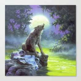 The Werewolf of Fever Swamp Canvas Print