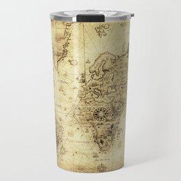Old World map Travel Mug