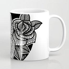 Line Work Rose Trio Coffee Mug