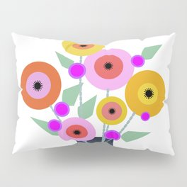 Floral Potpourri Pillow Sham
