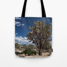Joshua Trees in Mojave Desert Tote Bag
