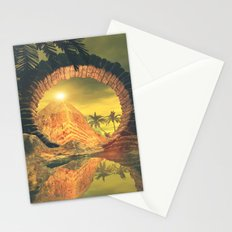 The temlpe Stationery Cards