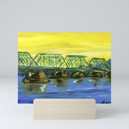 New Hope-Lambertville Bridge Mini Art Print