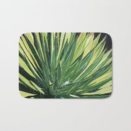 Yucca with spider Bath Mat