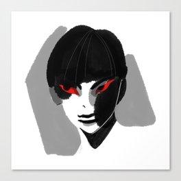 Red Eyed Boy Canvas Print