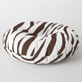 BLACK AND WHITE ANIMAL SKIN DESIGN Floor Pillow