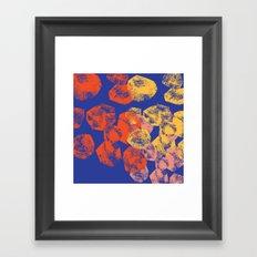 boulders Framed Art Print